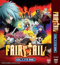 DVD Anime Fairy Tail Season 1 Vol. 1 - 175 End English Subtitle