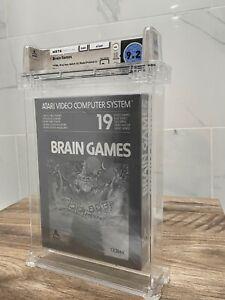 Unopened Brain Games Atari 2600 Sealed Video Game! Wata Graded 9.2! 1986 USA