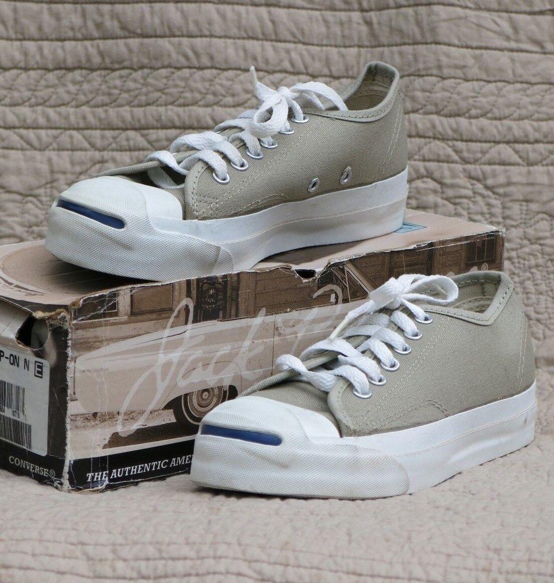 Converse Jack Purcell Chaussures de tennis fait U. S, un, nouveau old stock Hommes  s 4.5 Beige