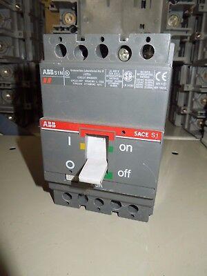 ABB SACE S1 S1N 100A 3P 277//480V Circuit Breaker Used
