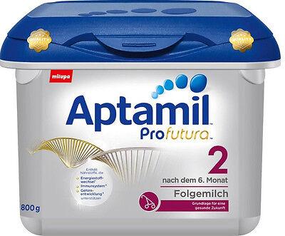 Aufstrebend Milupa Aptamil Profutura 2 Ab 7 Monat Starke Verpackung 1x 800g. 1 Jahr Haltbar Ab Kaufdatum