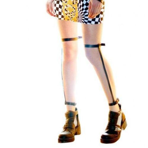 Rock Pub Girl Garter Belt Suspenders Women Punk Leg Ring Harness Garter