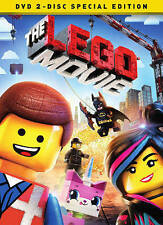 The LEGO Movie (DVD, 2014, 2-Disc Special Edition)  BRAND NEW   Factory Sealed
