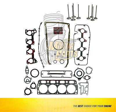 Intake Valve Fits GM Cavalier Achieva Sunfire 2.3 L QUAD4 DOHC  Set of  8