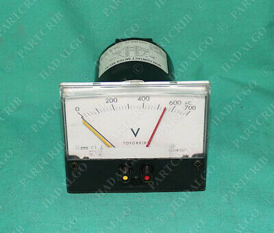 0-120 /% Used 10V Toyo Keiki Spindle Load Meter SHIPS SAME DAY DEF-54sY