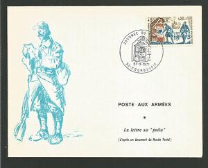 Le Prix Le Moins Cher 1971 Journée Du Timbre Oblit. Verdun Postes Aux Armées La Lettre Au Poilu /l1935 RafraîChissant Et BéNéFique Pour Les Yeux