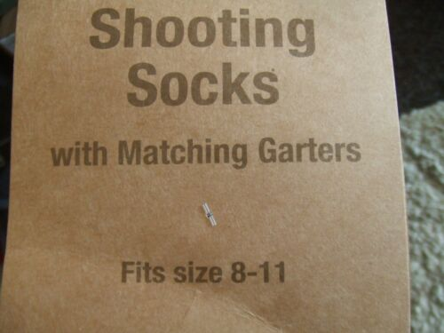 TIES GARTERS TRADITIONAL ENGLISH LONG GAME HUNTING SOCKS GREEN /& RED CONTRAST