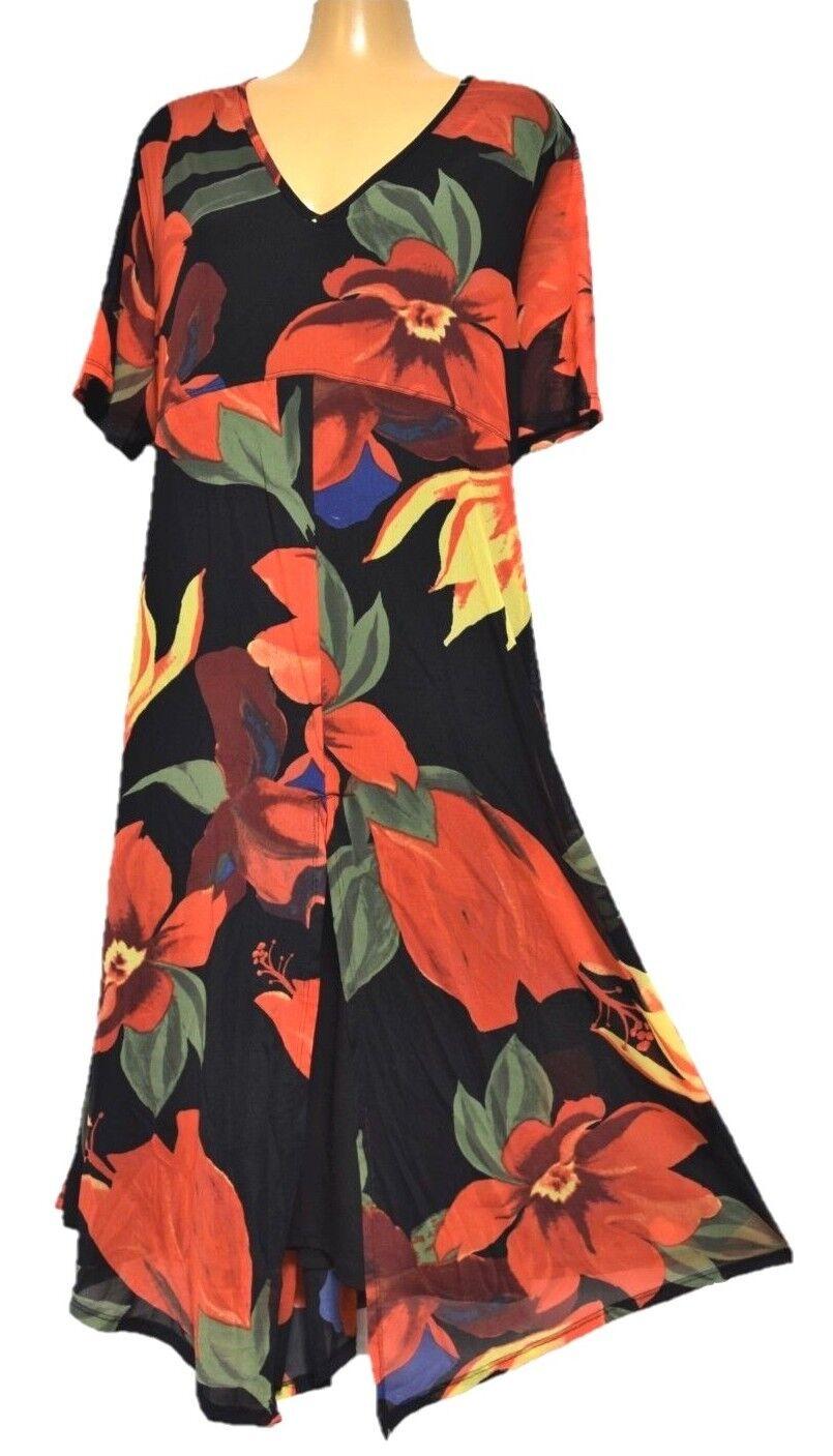 776481f54a2 TS dress dress dress TAKING SHAPE plus sz S 16 Congo Dress stretchy vibrant  NWT rrp 130 be9ea0