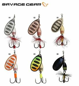 Savage-Gear-ROTEX-Spinner-Peche-Lure-3-5-14-g-Couleurs-Diverses