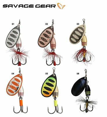 SAVAGE GEAR ROTEX SPINNER KITS 10 SPINNERS AND BOX  CRAZY PRICE