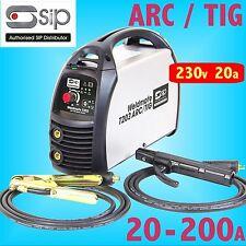 SIP 05708 T203 230V ARC / tig inverseur soudeur 200AMP Générateur sécurité MMA
