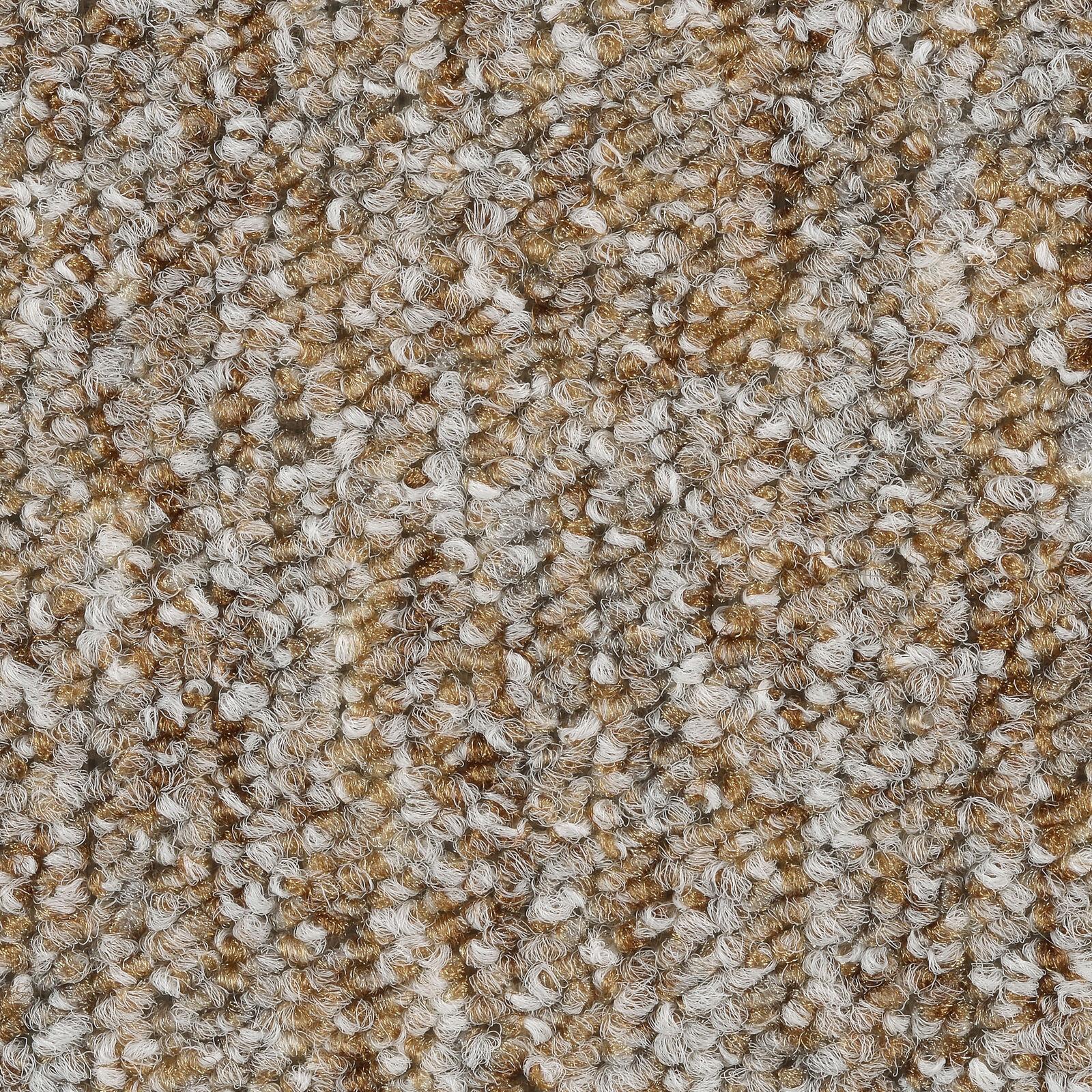 verschiedene L/ängen BODENMEISTER BM72051 Teppichboden Auslegware Meterware Schlinge beige dunkel 400 cm und 500 cm breit 2x4m Variante