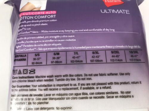 Details about  /Hanes Ultimate 5-pk.+1 Bonus Comfort Ultra Hi-Cut 43HUC6 Sz.6//M,8//XL,9//2XL #94