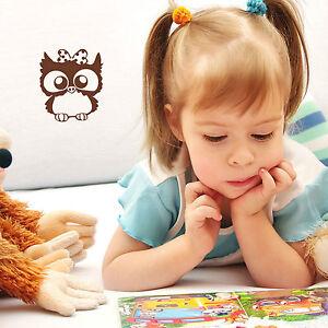 10439-wandtattoo-loft-Sticker-Mural-Hibou-petit-hibou-034-Carla-034-noeud-bow