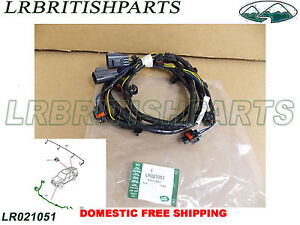Peachy Genuine Land Rover Wiring Harness Front Bumper Lr4 10 11 Oem New Wiring Digital Resources Sapebecompassionincorg