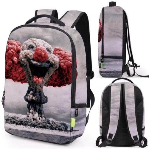 Women Men 3D Galaxy Travel Satchel Backpack Rucksack Shoulder Bookbag School Bag
