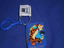 Vintage Disney Winnie The Pooh Pal Tigger Mini Notebook Key Chain/Pull Applause