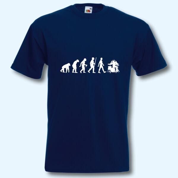 Analitico T-shirt, Fun-shirt, Evolution Percussioni, Batterista, Drums, Musicista, Nastro, Texture Chiara