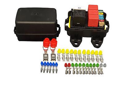 [DIAGRAM_4PO]  MTA Waterproof sealed Fuse and Relay holder box Panel   eBay   Sealed Fuse Box Circuit 3      eBay