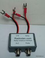 Yaesu Fl-2100b Amplifier Keying Relay Interface Breakout Alc Fl2000 Fl2500