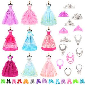Barwa-Random-10-sets-of-big-skirt-random-5-shoes-random-6-crown-6-necklace