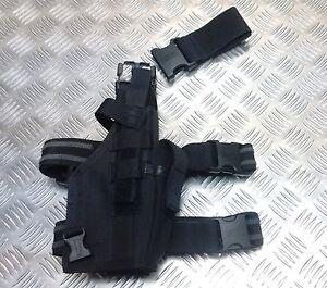 Genuine British Military Police SBS Blackhawk Glock / Sig Sauer Dropleg Holster