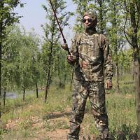 Summer Long-sleeved Hunting Clothes Real Tree Birding Fishing Jacket Pants