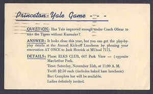 1952-PRINCETON-YALE-GAME-A-FORUM-AT-ELKS-CLUB-ON-YALE-COACH-LOS-ANGELES-CA