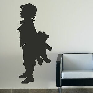 Large Boy Holding Bear Nursery Wall Sticker  Cute Nursery Wall Transfer NE8 - <span itemprop='availableAtOrFrom'>Tamworth, Staffordshire, United Kingdom</span> - We offer a 100% customer satisfaction gaurantee, if you are unhappy with the item for any reason you will be entitled to a refund/replacement, where a replacement is requi - <span itemprop='availableAtOrFrom'>Tamworth, Staffordshire, United Kingdom</span>