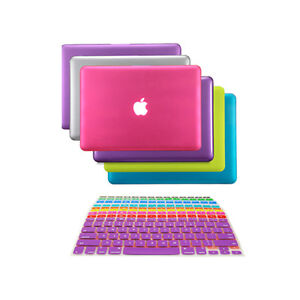 buy online 8bac9 383b6 Details about NEW! Rubberized Hard Case Cover for Macbook PRO 13