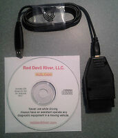 Gm Obd1 Scanner Cable & Software - Usb To 16 Pin Aldl Direct. - Gm Obdi
