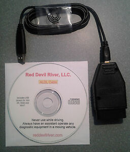 Gm Obd1 Scanner Cable Amp Software Usb To 16 Pin Aldl Direct Gm Obdi Ebay