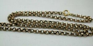 Antique 9 cart Gold Belcher Type Of Link Neck Chain