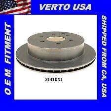 Verto USA Disc Brake Rotor- Rear  31410X1 Fit Nissan & Suzuki