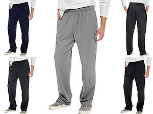 Men-039-s-Athletic-Pants-by-CHAMPION-Open-Bottom-w-Pockets-Size-S-2XL-P7309