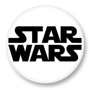 """Pin Button Badge Ø25mm 1/"""" Logo Resistance Star Wars La Guerre des Etoiles"""