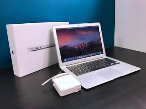 "Apple Mac Book Air 13"" Laptop / 2.6 G Hz Core I5 / Upgraded 128 Gb Ssd / Os 2017 by Apple"
