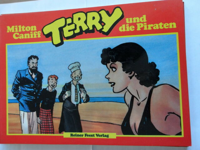 1x Comic-Terry and the Pirates (Milton Caniff) Volume 2