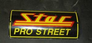 DRAGRACE Star Racing Pro Street SCARICO stemma. METALLO