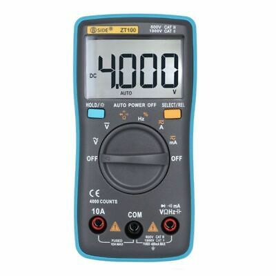 Électrique Multimètre Testeur Test Meter AC DC la continuité Résistance Ohm Voiture