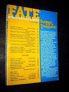 FATE #303 1622 Sunken Treasure Klass debunks UFOs 6 1975 psychic readers