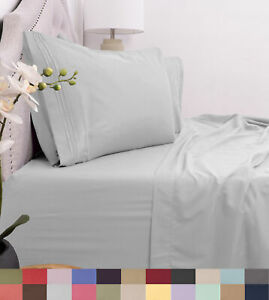 Egyptian-Comfort-1800-Thread-Count-4-Piece-Bed-Sheet-Set-Deep-Pocket