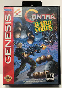 Contra-Hard-Corps-for-Sega-Genesis-Authentic-NTSC-Version-No-Manual-By-Konami