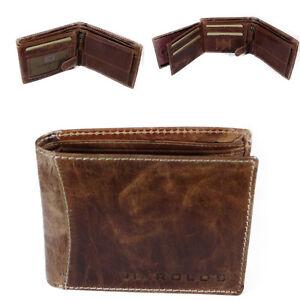 6a544c08c9aaa1 Das Bild wird geladen HAROLDS-Herren-Leder-Portemonnaie-Geldboerse- Geldbeutel-Brieftasche-Portmonee-