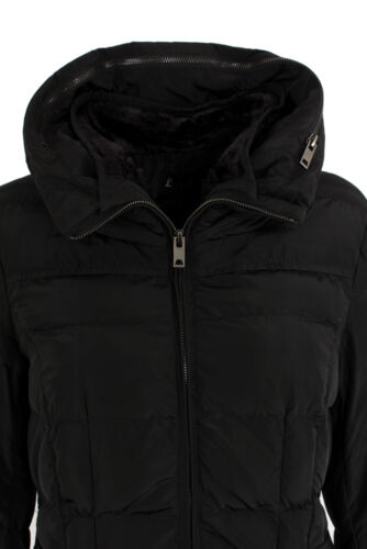 Women Parka Long Hooded Quilted Ladies Coat Jacket Black Warm Padded Winter FqO4f7