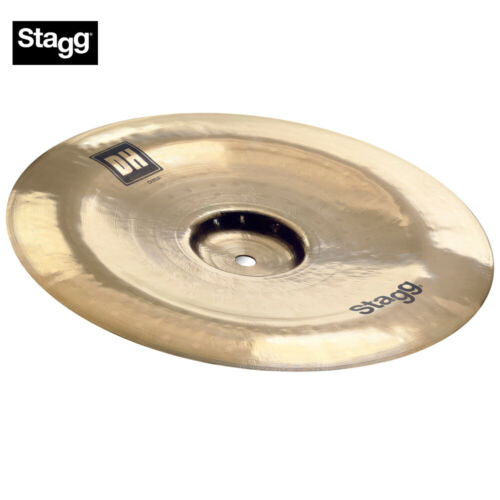 """NEW Stagg DH-CH18B Dual Hammered 18/"""" DH Brilliant China Cymbal"""