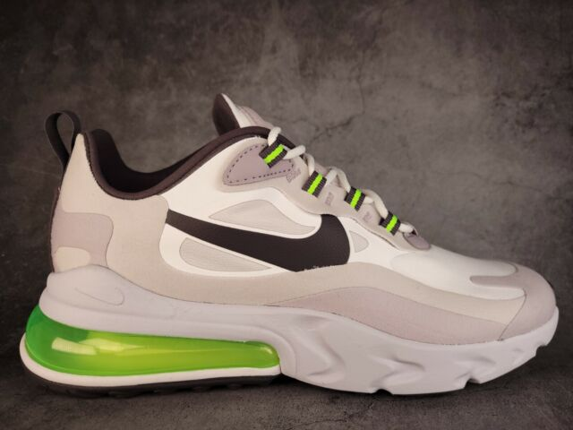 Nike Air Max 270 React CI3866-100 White Electric Green Black Men's Size 8.5