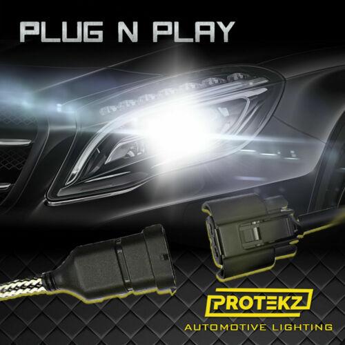 Protekz 6000K LED Fog Light Kit for 2001-2004 Toyota COROLLA H3 Fog Bulb