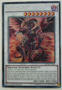 YuGiOh-SCARLIGHT-RED-DRAGON-ARCHFIEND-MP16-EN140-MINT-SECRET-RARE-1st-EDITION