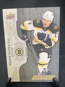 Ryan Donato 13/49 U.D. Engrained Rookie Boston Bruins 2018-19